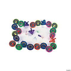 24 Pc. Super Spin Top Markers