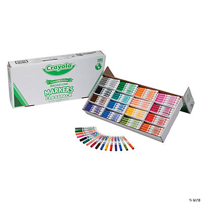 Crayola® 256 Pc. Regular Conical Marker Classpack®