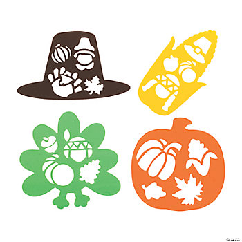 Thanksgiving Stencils