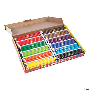 240 Pc. Cool Colored Pencil Classpack