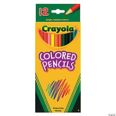 12-Color Crayola® Color Pencils