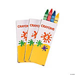 4-Color Crayons (12 Boxes)