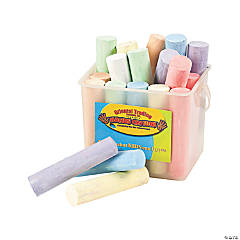 Jumbo Sidewalk Chalk-20 pc