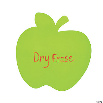 Apple Dry Erase Classroom Stickers