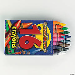 Box of Crayons 16 PC