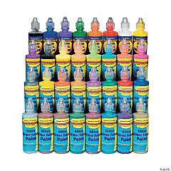 32 Pc. Mega Fabric Paint Kit