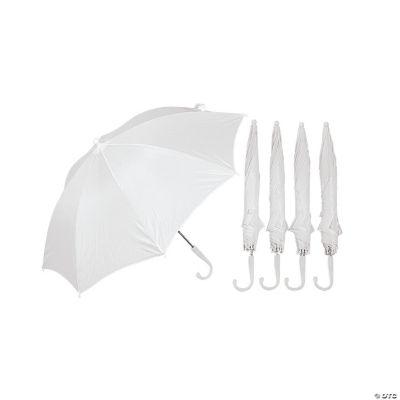 DIY White Umbrellas