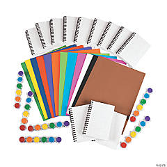42 Pc. DIY Notebook Kit