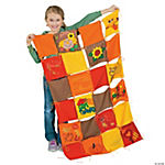 DIY Fall Colors Classroom Quilt