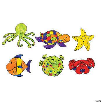 24 Under The Sea Sun Catchers