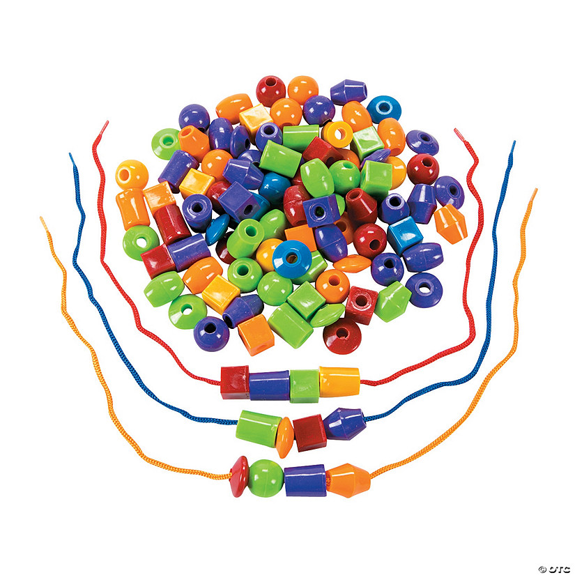 Jumbo Lacing Beads