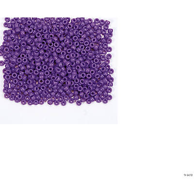 1/2 Lb. of Purple Pony Beads