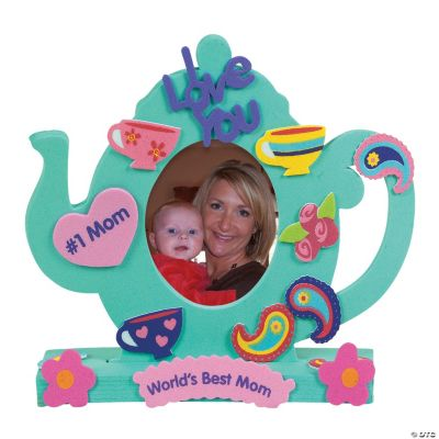 Fabulous Foam Stand-Up Teapot Picture Frames