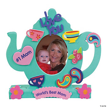 Fabulous Foam Stand-Up Teapot Frames
