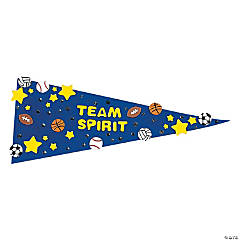 12 Fabulous Foam Pennants
