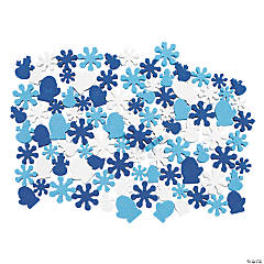 Fabulous Foam Winter Bead Assortment