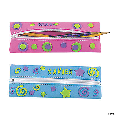 DIY Fabulous Foam Pencil Cases