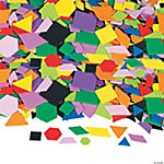 1000 Mosaic Geometric Self-Adhesive Foam Shapes