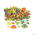 Fabulous Foam Self-Adhesive Dinosaur Shapes