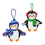 Fabulous Foam Penguin Ornaments