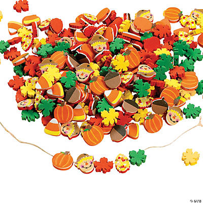 500 Fabulous Foam Harvest Mix Bead Assortment