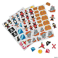 Fabulous Foam Self-Adhesive Pirate Shapes