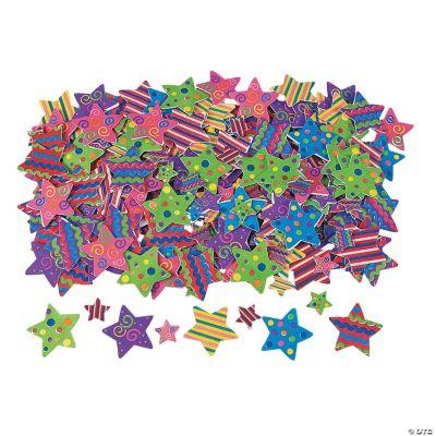 500 Fabulous Foam Self-Adhesive Star Shapes