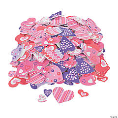 Fabulous Foam Self-Adhesive Valentine Heart Shapes