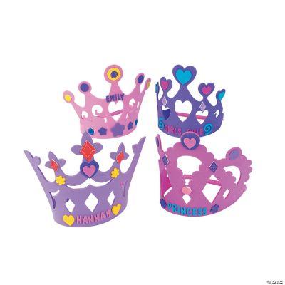 Fabulous Foam Princess Crowns