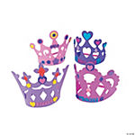 Fabulous Foam Princess Crowns