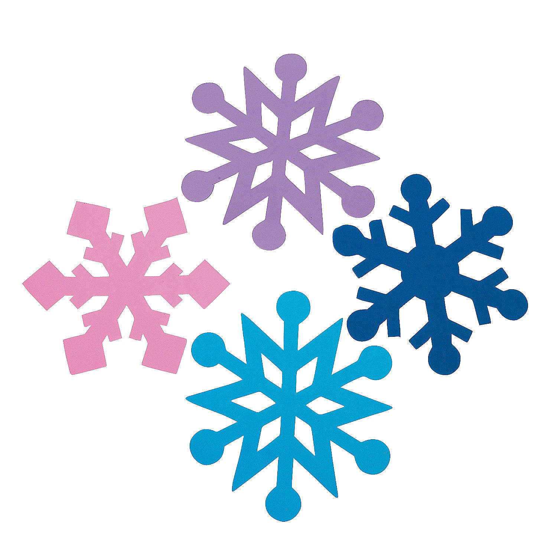 Small Foam Snowflakes Fabulous Foam Jumbo Snowflakes