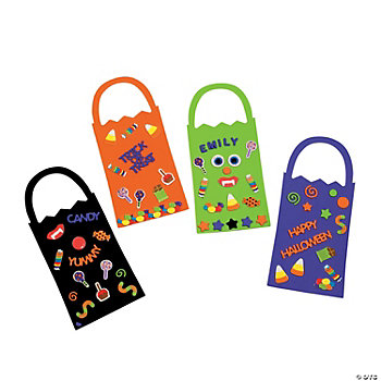 Trick-Or-Treat! Doorknob Hangers