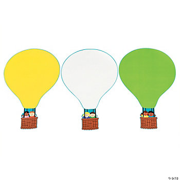 DIY Giant Hot Air Balloon Sticker Scenes
