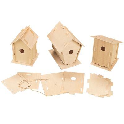 DIY Wood Birdhouses