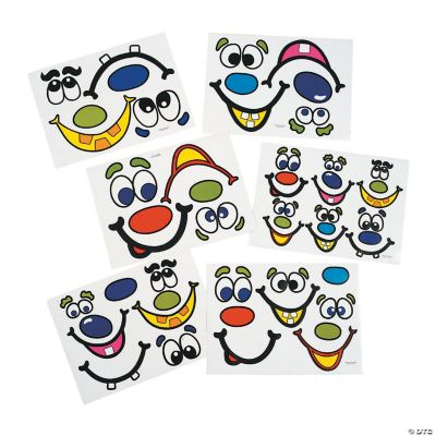 Oriental Trading Jack O 39 Lantern Face Stickers Customer