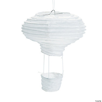 DIY Hot Air Balloon Paper Lanterns