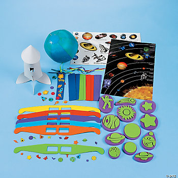 570 Pc. Super Mega Space Educational Craft Kit