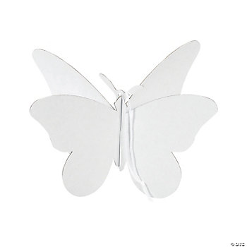 DIY Beautiful 3D Butterfly Ornaments