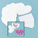 DIY Heart-Shaped Cards