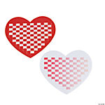 Delightful Heart Weaving Mats