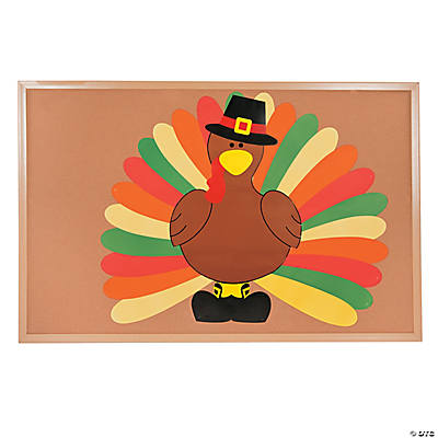 DIY Turkey Bulletin Board Set