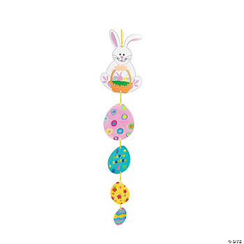 DIY Easter Bunny & Eggs Mobiles