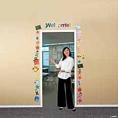 "44 Pc. ""Welcome"" Door Decoration Set"