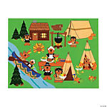 Beary Happy Thanksgiving Sticker Scenes