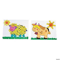 Farm Animals Dot Marker Activity Sheets
