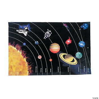 DIY Giant Planet Sticker Scenes