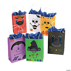 Halloween Character Craft Bags