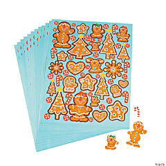 Gingerbread Cookie Stickers