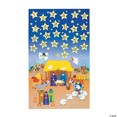 Giant Advent Calendar Sticker Scenes