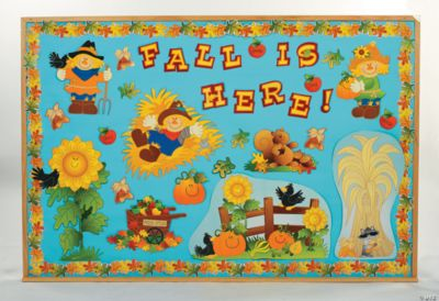 Fall Harvest Bulletin Board Set